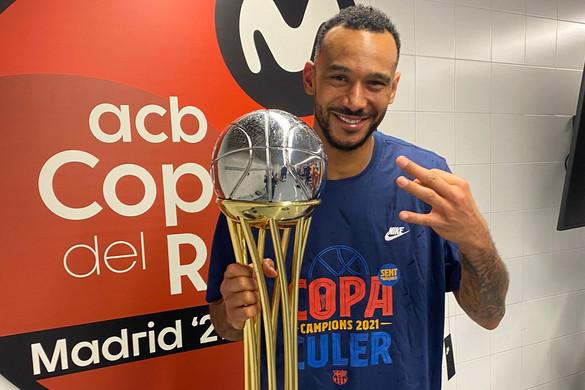 Hanga Ádám Spanyol Kupát nyert a Barcelonával