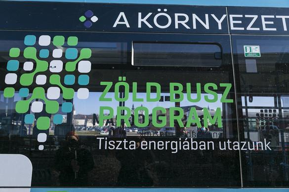 Ötödik állomásához érkezett a Zöld Busz Program