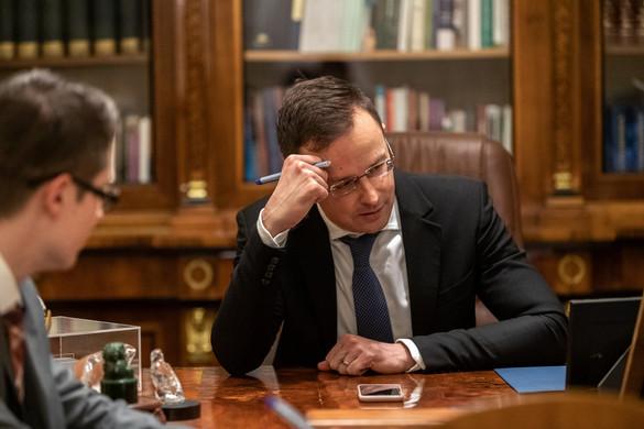 Szijjártó: A lehető legszorosabb brit-magyar kapcsolatokban vagyunk érdekeltek