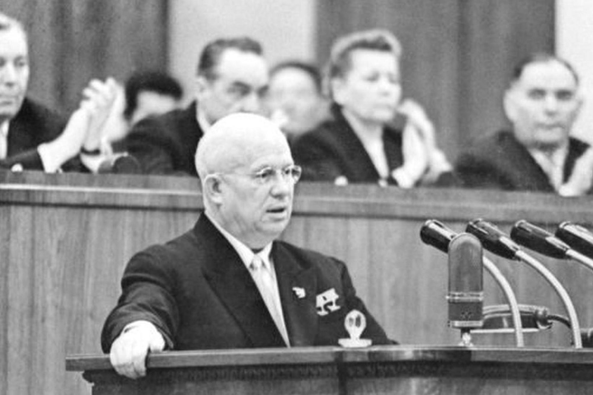 Nyikita Hruscsovot 1953 szeptemberében választották az SZKP KB első titkárává