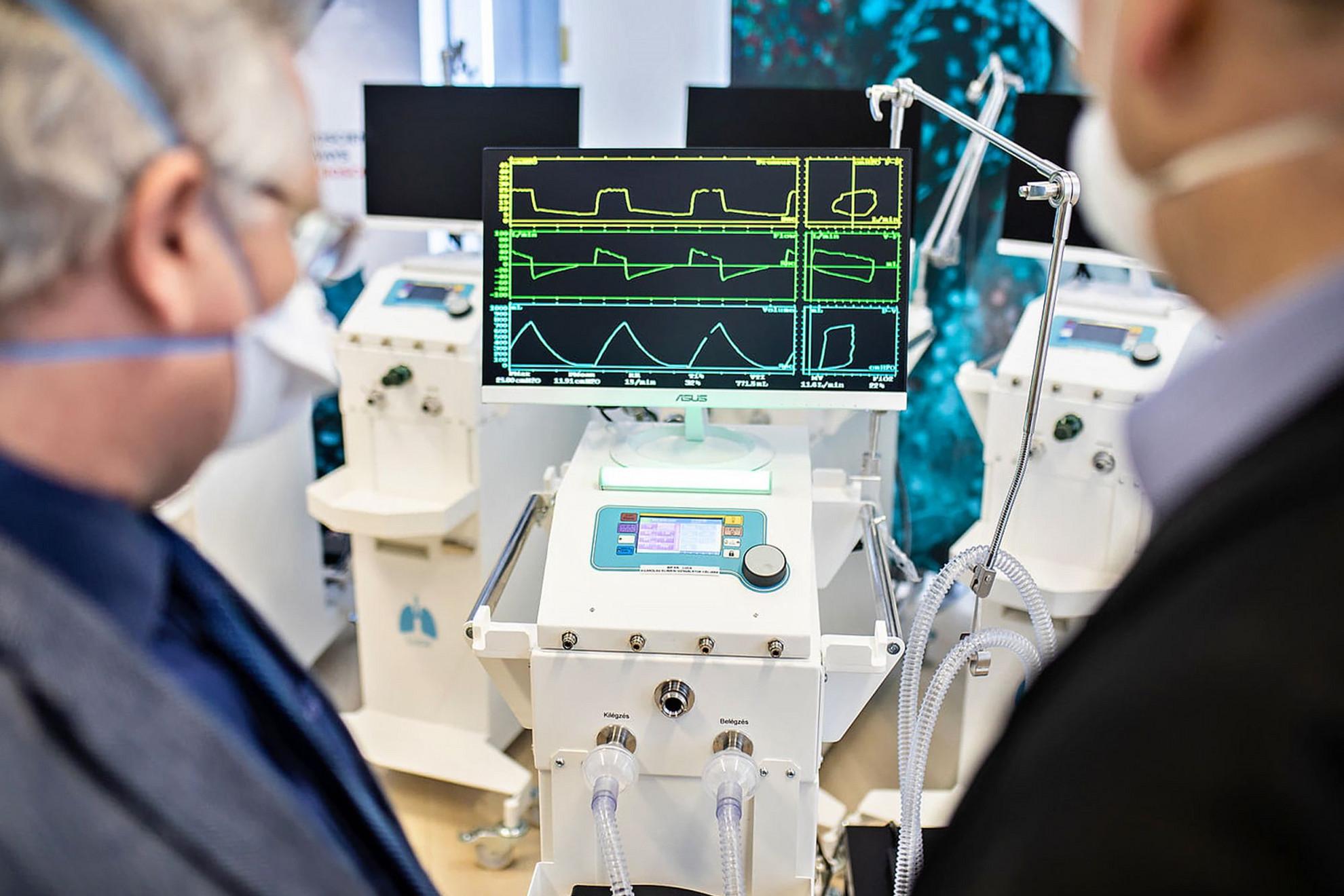 Magyar fejlesztésű lélegeztetőgépek