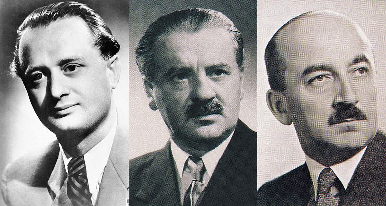 Ortutay Gyula, Tildy Zoltán, Nagy Ferenc