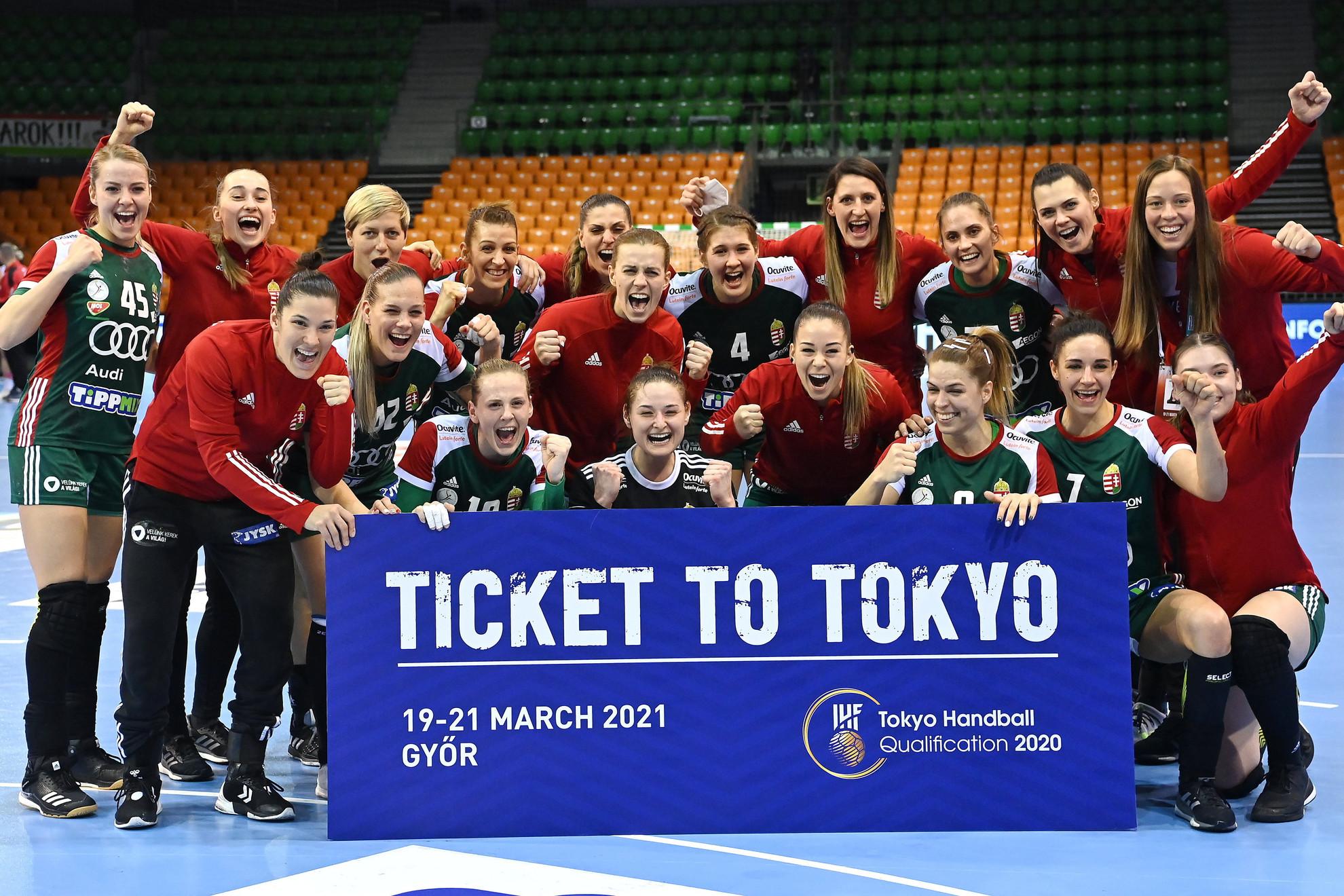 A meccs után a vereség ellenére is ünnepelt a csapat, hiszen a nagy célt sikerült elérni: Magyarország ott lesz a tokiói olimpián