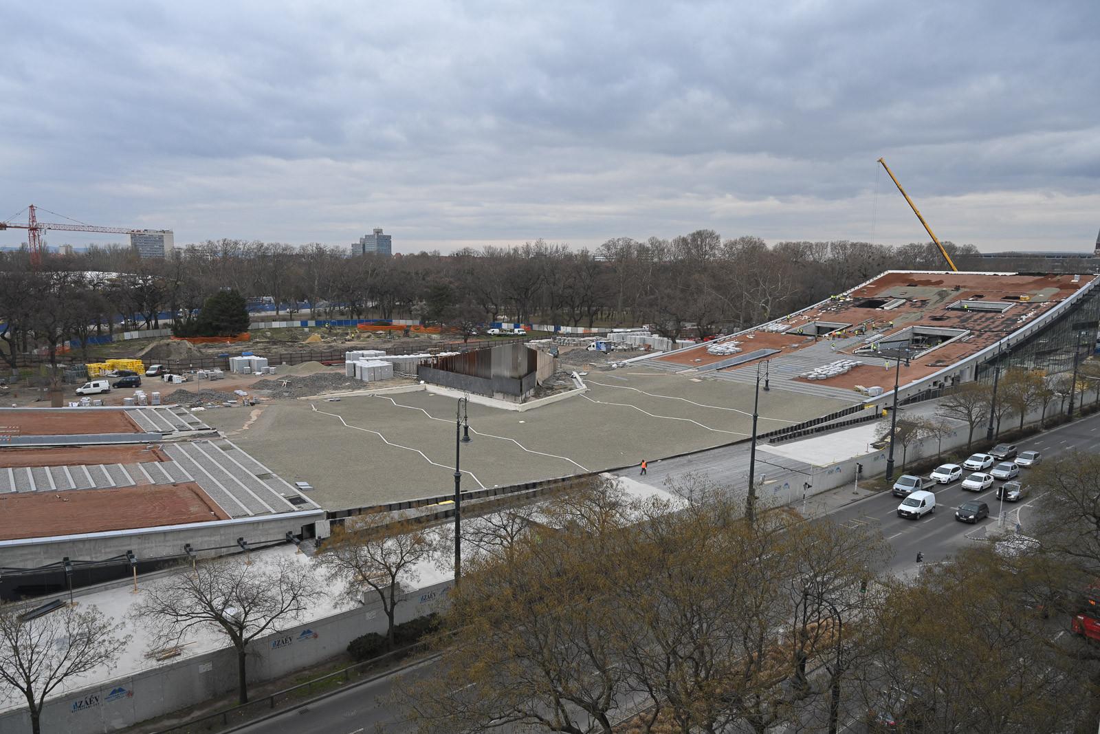 Bemutatták a városligeti fejlesztések legújabb szakaszát