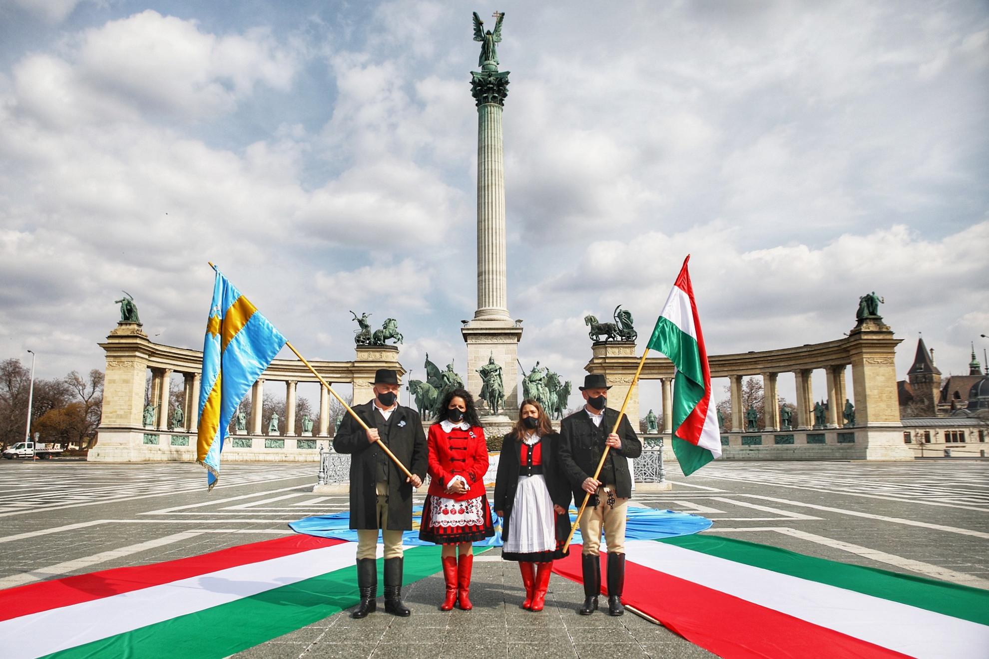 Budapesten is megemlékeztek a székely szabadság napjáról