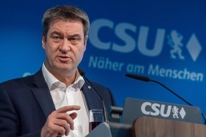 Söder elutasítja a kisebbik koalíciós partner szerepét