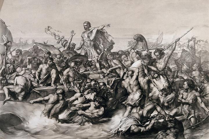 Julius Caesar és a spanyol armada esete a britekkel