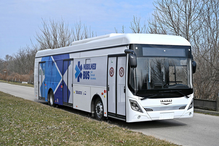 Magyarországon fejlesztett buszok is segíthetnek a járvány elleni harcban