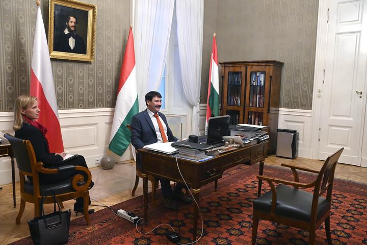A magyar-lengyel barátság napja alkalmából tanácskozott Áder János és Andrzej Duda