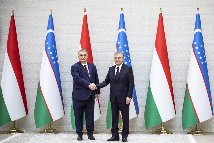 Orbán Viktor: Biztos lábakon állnak a magyar-üzbég kapcsolatok