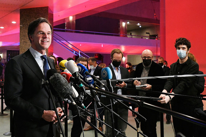 Negyedszer lesz kormányfő Mark Rutte