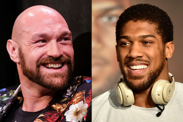 Boksz: Két címegyesítő meccsen is összecsap Fury és Joshua