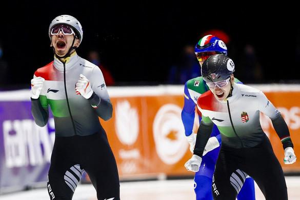 Minden idők legjobb magyar szereplése a rövidpályás-gyorskorcsolyázók világbajnokságán