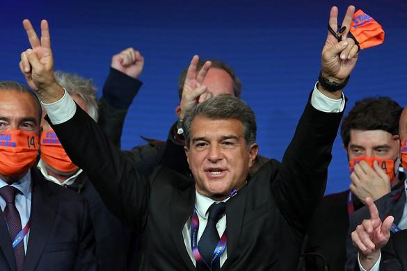 Joan Laporta a Barcelona új elnöke