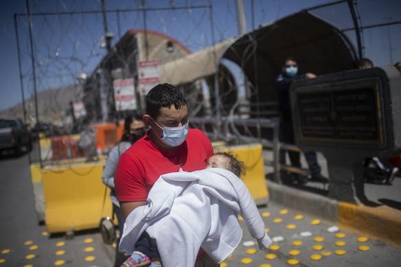Több tízezer kiskorú gyerek az amerikai határon