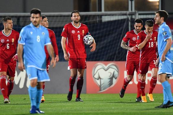 A magyar válogatott magabiztosan nyert San Marino ellen