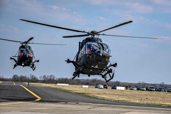 Tovább bővült a honvédségi helikopterflotta