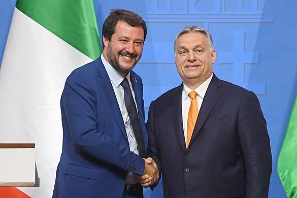 Salvinivel és Morawieckivel találkozik csütörtökön Orbán Viktor