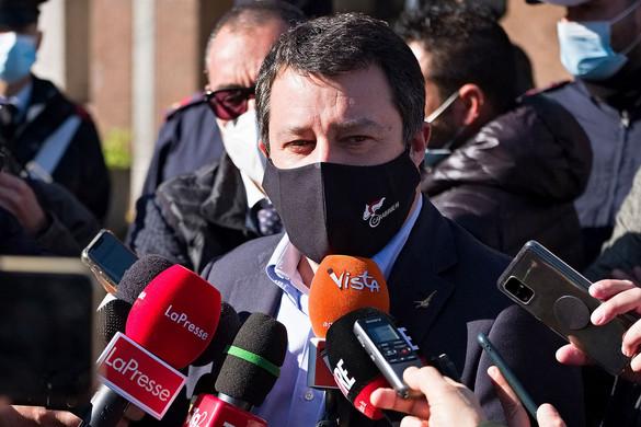 Az eljárás lezárását kérte az ügyészség a Salvini elleni ügyben