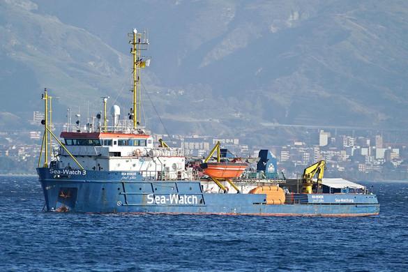 Az olasz hatóságok lefoglalták Sea-Watch 3 migránsmentő hajót
