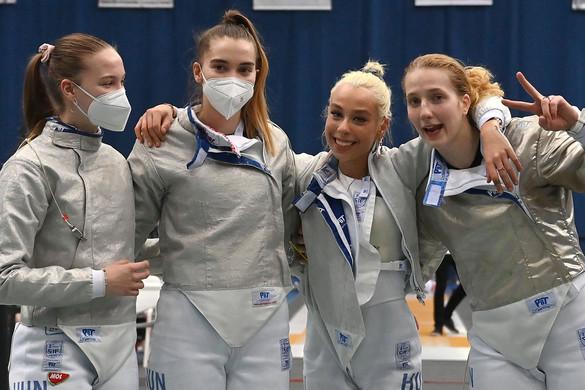 Olimpiai résztvevő a magyar női kardválogatott
