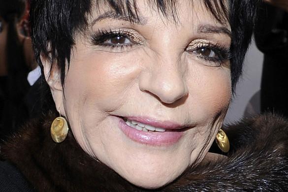Liza Minnelli hetvenöt éves