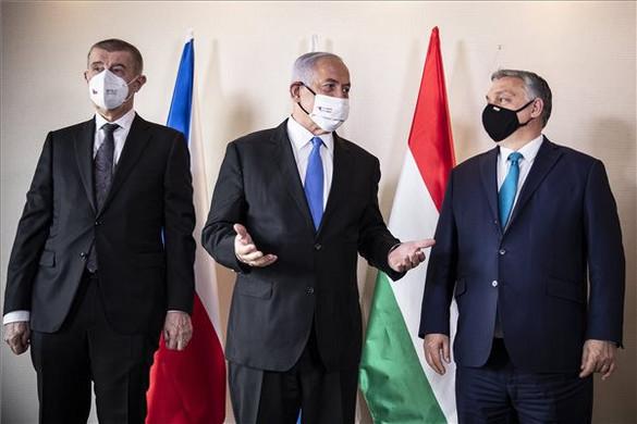 Jeruzsálemben tárgyal Orbán Viktor