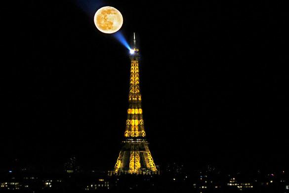 Torony, telihold, Párizs