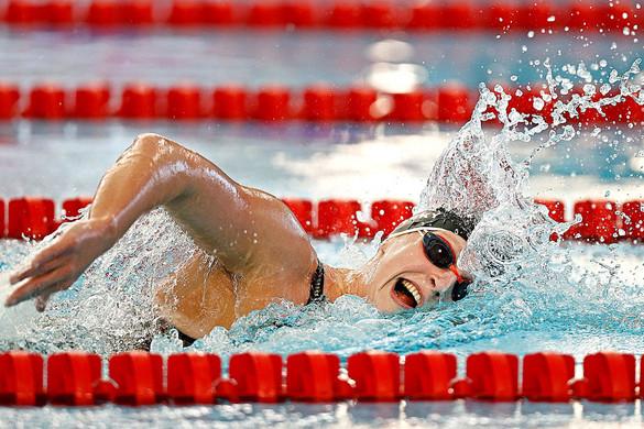 Az amerikai Katie Ledecky újra versenyezni kezdett