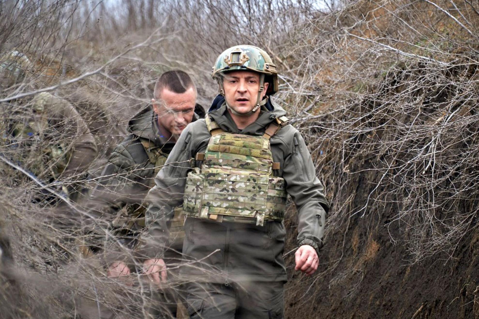 Sürgeti hazája NATO-tagságát Volodimir Zelenszkij ukrán elnök
