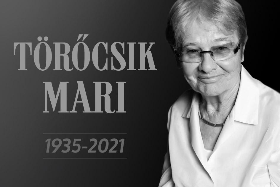 Törőcsik Marit a Nemzeti Színház saját halottjának tekinti