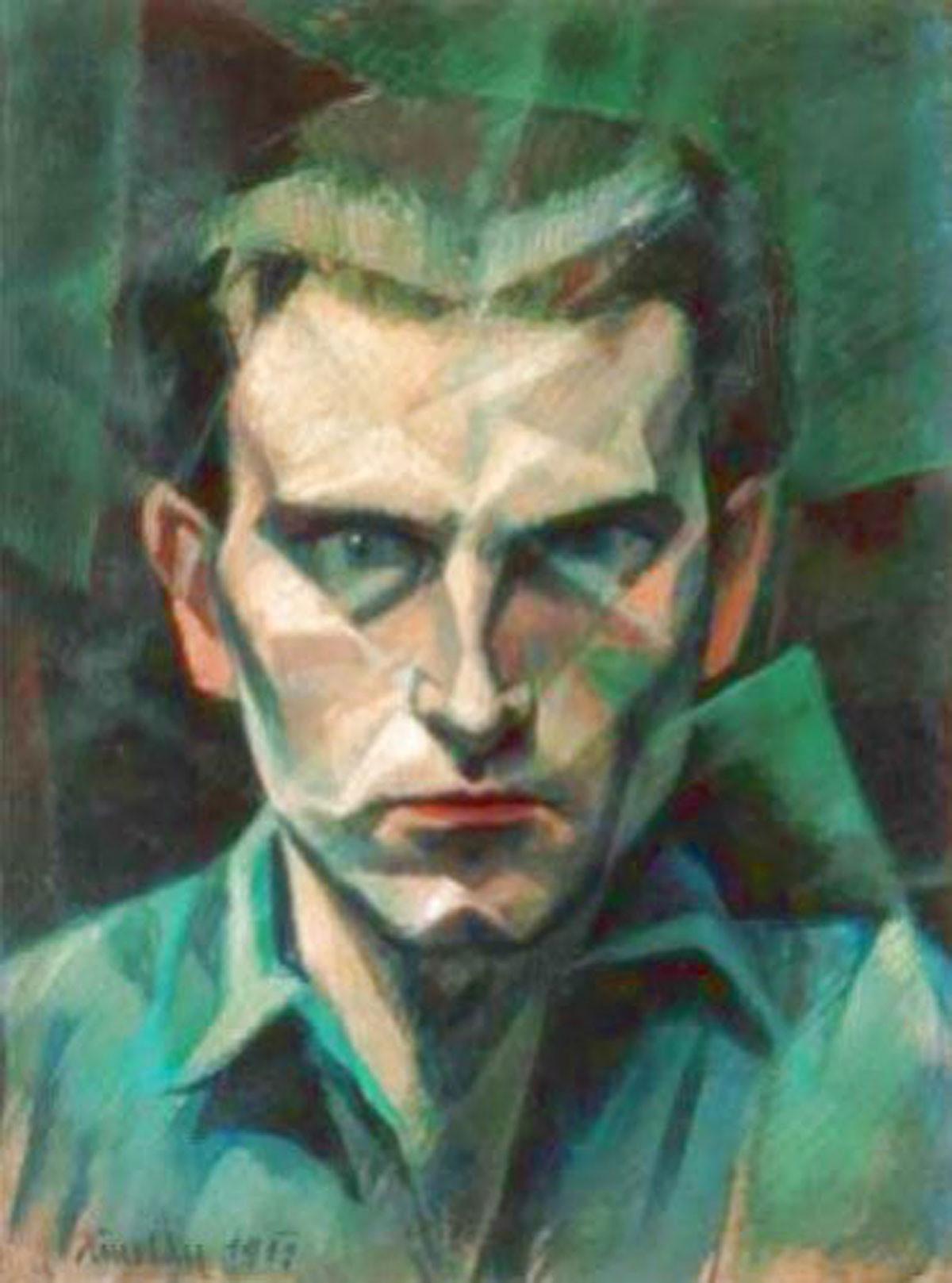A művész számos önarcképet készített