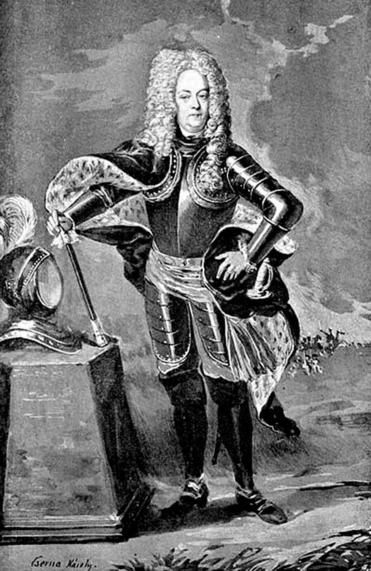 Gróf Pálffy János (1664–1751), a magyarországi császári erők főparancsnoka, aki a kompromisszumot szorgalmazta a rendiség és a felvilágosult abszolutizmus között