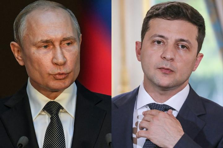 Putyin Moszkvában fogadná Zelenszkijt az orosz-ukrán viszony megbeszélésére