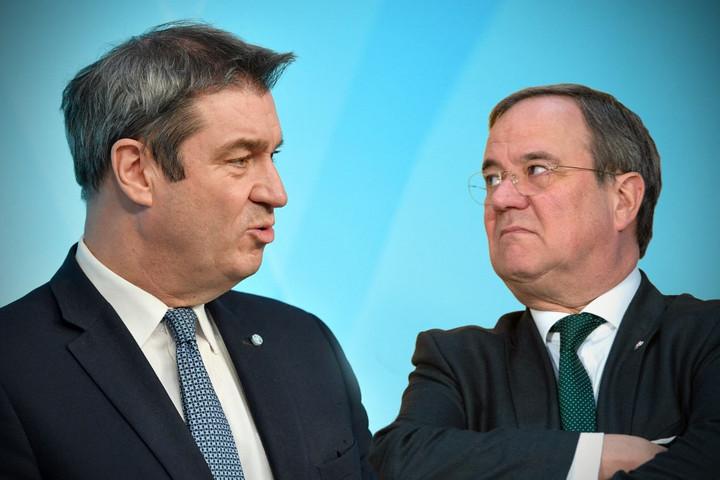 Laschet és Söder helyett a CDU/CSU frakciója döntene a kancellárjelöltségről