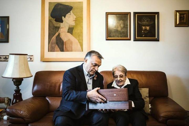 Orbán Viktor: Drága Mari! Elment hát