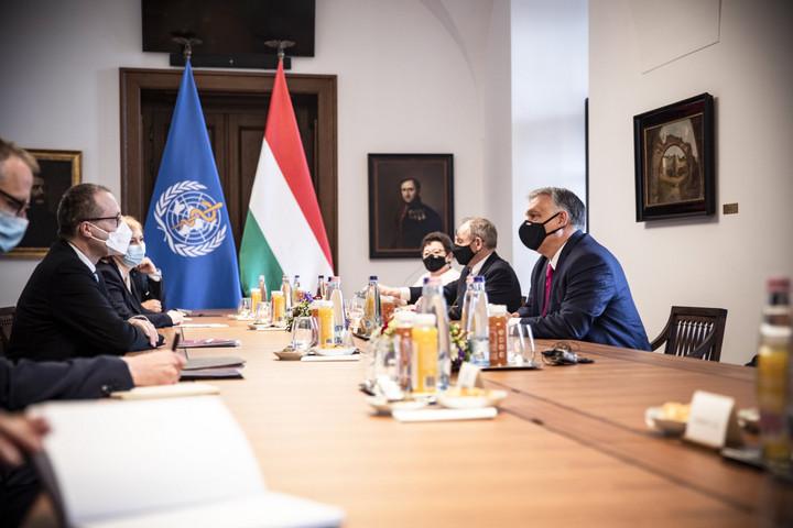 Orbán Viktor a WHO európai vezetőjével tárgyalt