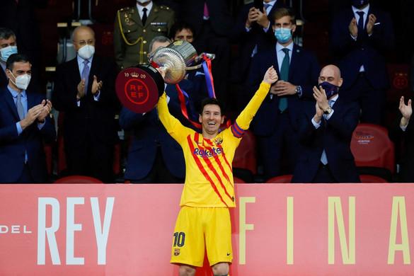 Az FC Barcelona nyerte a spanyol labdarúgó Király Kupát