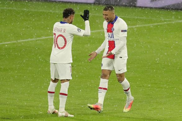 Hiába játszott fölényben, így is kikapott a Bayern a PSG-től