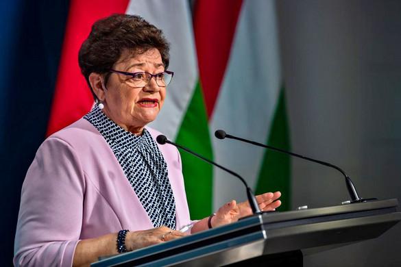 Müller Cecília: Véget ért a járvány harmadik hulláma