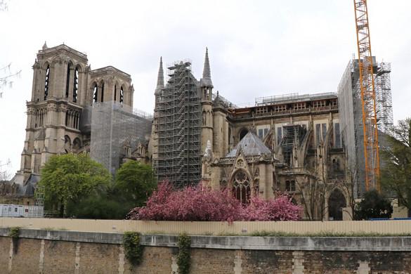 Két esztendeje égett le a Notre-Dame