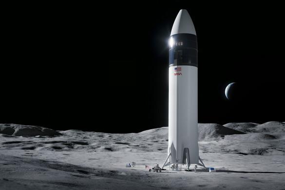 A NASA Elon Musk űrvállalkozását bízta meg a Holdra szálló egység kifejlesztésével