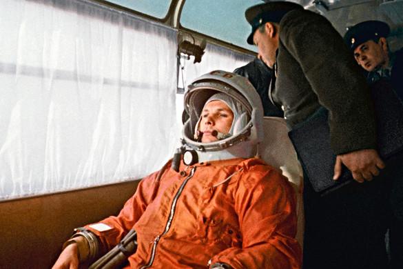 Parasztcsalád sarjaként jött a világra Gagarin, aki elsőként hagyta el bölcsőnket