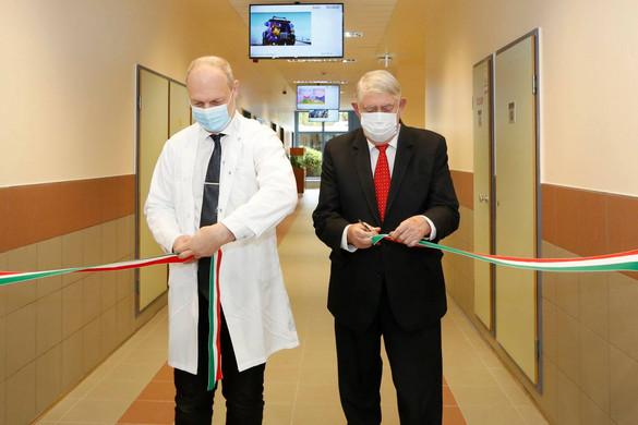 Megújult a Gottsegen György Országos Kardiovaszkuláris Intézet gyermekszív központja