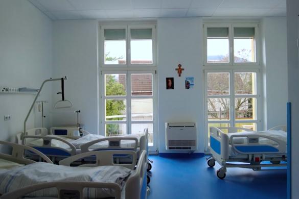 Átadták a Budapesti Szent Ferenc Kórház új részlegét