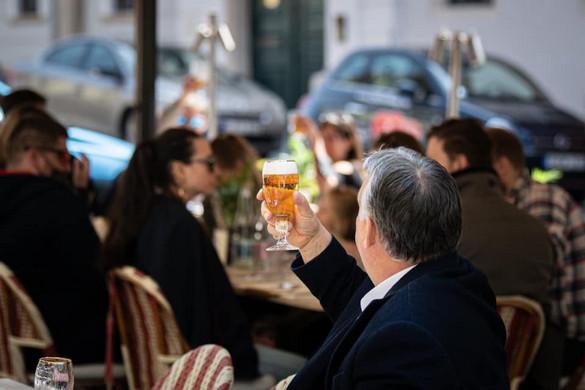 Orbán Viktor: Szabad a sör