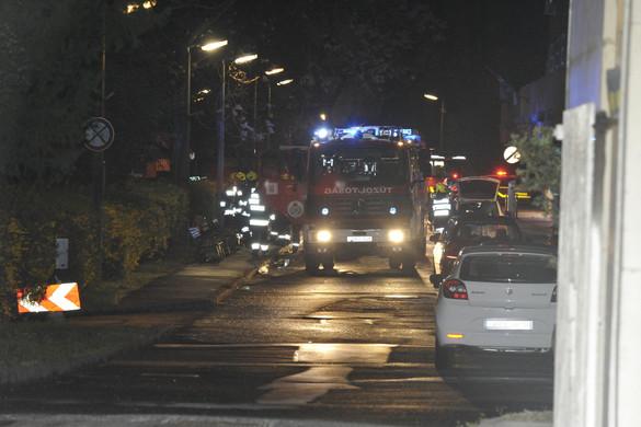 Tűz volt a fővárosi Szent Margit Kórházban
