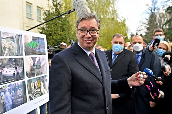 Szerbia májusban már gyártja a Szputnyik V-t