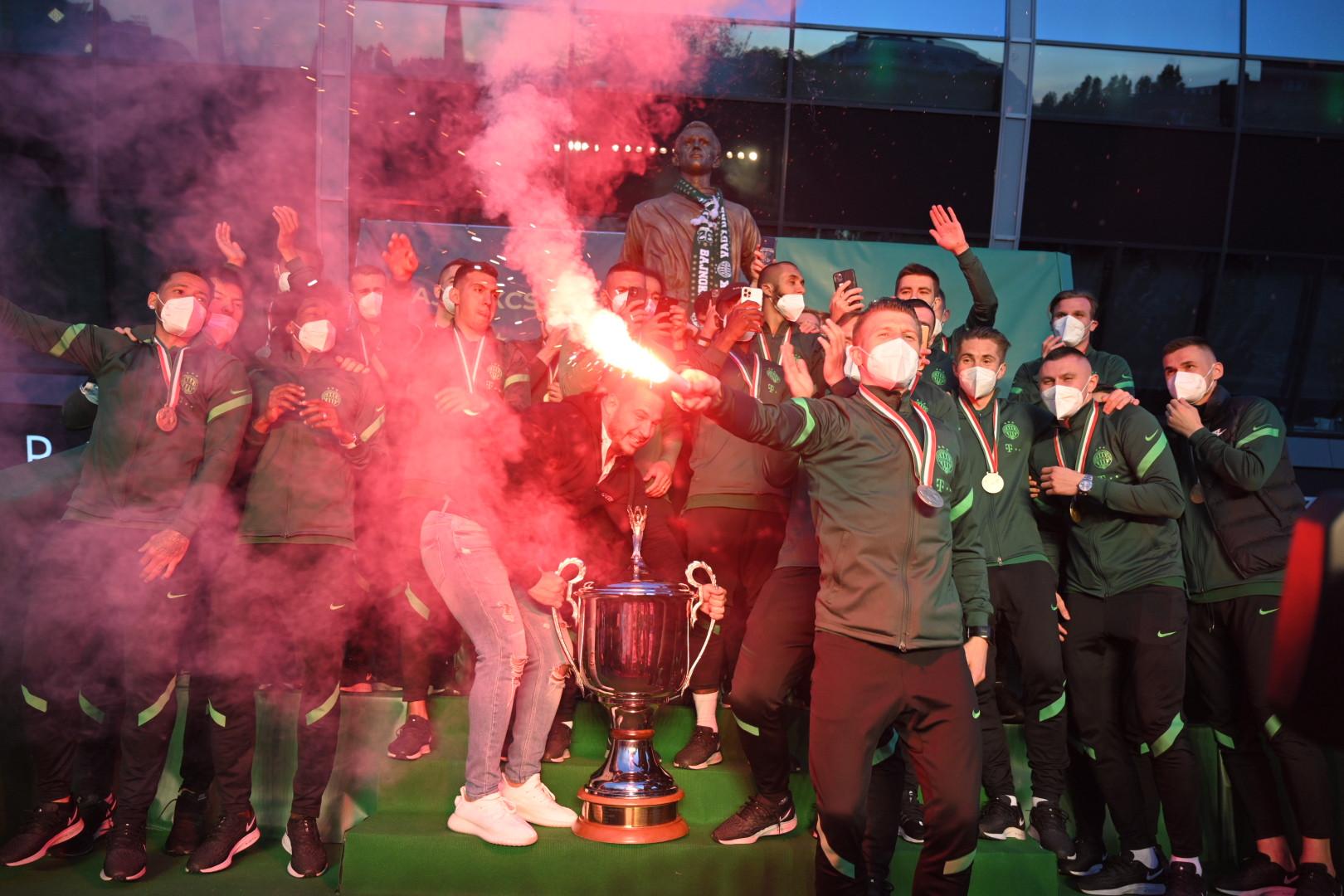 A Ferencváros a 32. bajnoki címét szerezte meg