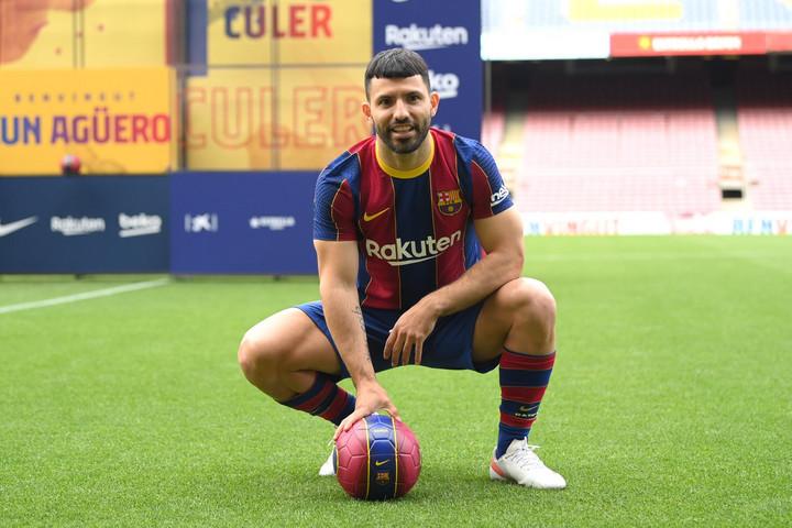 Agüero a Barcelonába igazolt